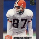 1994 Stadium Club Football #401 Keenan McCardell RC - Cleveland Browns