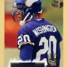 1994 Stadium Club Football #142 DeWayne Washington RC - Minnesota Vikings
