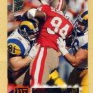 1994 Stadium Club Football #080 Dana Stubblefield - San Francisco 49ers