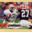 1994 Stadium Club Football #076 Tyrone Hughes - New Orleans Saints