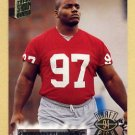 1994 Stadium Club Football #051 Bryant Young RC - San Francisco 49ers