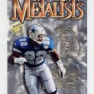 1995 Stadium Club Football Metalists #M5 Emmitt Smith - Dallas Cowboys