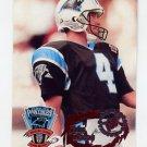 1995 Stadium Club Football #414 John Kasay - Carolina Panthers