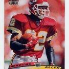 1996 Stadium Club Football #220 Marcus Allen - Kansas City Chiefs