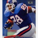 1996 Stadium Club Football #127 Tyrone Wheatley - New York Giants