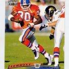 1996 Stadium Club Football #072 Terrell Davis - Denver Broncos