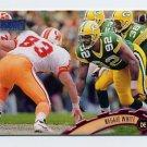 1997 Stadium Club Football #100 Reggie White - Green Bay Packers