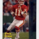 1997 Stadium Club Football #086 Elvis Grbac - Kansas City Chiefs