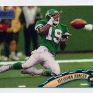 1997 Stadium Club Football #040 Keyshawn Johnson - New York Jets