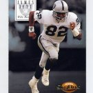1994 Skybox Premium Football Promos #S3 James Jett - Los Angeles Raiders