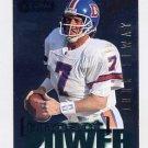 1995 Skybox Impact Football Impact Power #IP24 John Elway - Denver Broncos