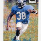 1995 Skybox Premium Football #176 Tyrone Poole RC - Carolina Panthers