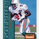 1995 Skybox Premium Football #073 O.J. McDuffie - Miami Dolphins