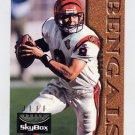 1995 Skybox Premium Football #023 Jeff Blake RC - Cincinnati Bengals