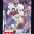 1996 Skybox Impact Football #038 Deion Sanders - Dallas Cowboys
