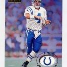 1996 Skybox Premium Football #076 Jim Harbaugh - Indianapolis Colts
