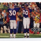 1998 Skybox Premium Football #206 Terrell Davis / Rod Smith OFA - Denver Broncos