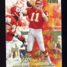 1998 Skybox Premium Football #166 Elvis Grbac - Kansas City Chiefs