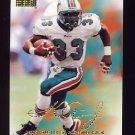 1998 Skybox Premium Football #140 Karim Abdul-Jabbar - Miami Dolphins