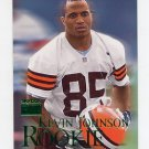1999 Skybox Premium Football #249 Kevin Johnson RC - Cleveland Browns
