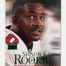 1999 Skybox Premium Football #229 Shaun King RC - Tampa Bay Buccaneers