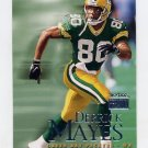 1999 Skybox Premium Football #208 Derrick Mayes - Green Bay Packers