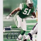1999 Skybox Premium Football #157 Bryan Cox - New York Jets