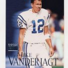 1999 Skybox Premium Football #132 Mike Vanderjagt - Indianapolis Colts