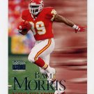 1999 Skybox Premium Football #108 Byron Bam Morris - Kansas City Chiefs