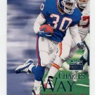1999 Skybox Premium Football #036 Charles Way - New York Giants