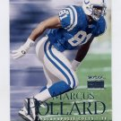 1999 Skybox Premium Football #007 Marcus Pollard - Indianapolis Colts