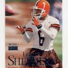 1999 Skybox Premium Football #005 Leslie Shepherd - Cleveland Browns