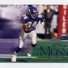 1999 Skybox Premium Football #001 Randy Moss - Minnesota Vikings