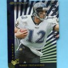 1997 Donruss Football Press Proofs Gold Die Cuts #062 Vinny Testaverde - Baltimore Ravens