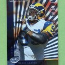1997 Donruss Football Press Proofs Silver #128 Kevin Carter - St. Louis Rams