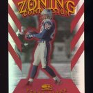 1997 Donruss Football Zoning Commission #15 Terry Glenn - New England Patriots 4066/5000