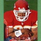 1997 Donruss Football #224 Kevin Lockett RC - Kansas City Chiefs