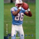 1997 Donruss Football #216 Joey Kent RC - Tennessee Titans