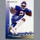 1997 Donruss Football #205 Tiki Barber RC - New York Giants NM-M