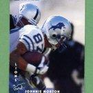1997 Donruss Football #144 Johnnie Morton - Detroit Lions
