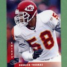 1997 Donruss Football #132 Derrick Thomas - Kansas City Chiefs