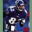 1997 Donruss Football #129 Derrick Alexander - Baltimore Ravens