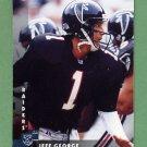 1997 Donruss Football #124 Jeff George - Atlanta Falcons