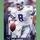 1997 Donruss Football #010 Troy Aikman - Dallas Cowboys