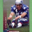 1997 Donruss Football #008 Drew Bledsoe - New England Patriots