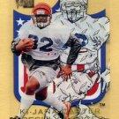 1996 Metal Football Freshly Forged #3 Ki-Jana Carter - Cincinnati Bengals