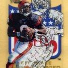 1996 Metal Football Freshly Forged #2 Jeff Blake - Cincinnati Bengals