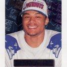 1996 Metal Football #132 Terry Glenn RC - New England Patriots
