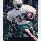 1996 Metal Football #124 Karim Abdul-Jabbar RC - Miami Dolphins