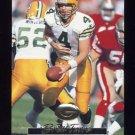 1996 Action Packed Football #018 Brett Favre - Green Bay Packers